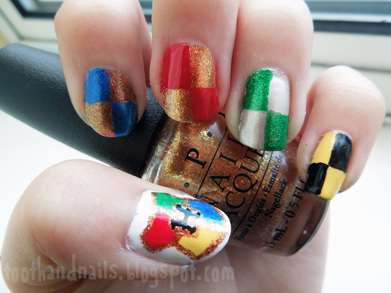 Tooth And Nails Harry Potter Nail Art Revisited Plus Hogwarts