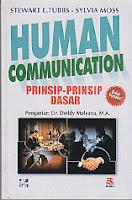 ajibayustore Judul : HUMAN COMMUNICATION 1 (Prinsip-Prinsip Dasar) Pengarang : Stewart L Tubbs-Sylvia Moss, Deddy Mulyana Penerbit : Rosda