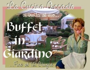 raccolta il buffet in giardino