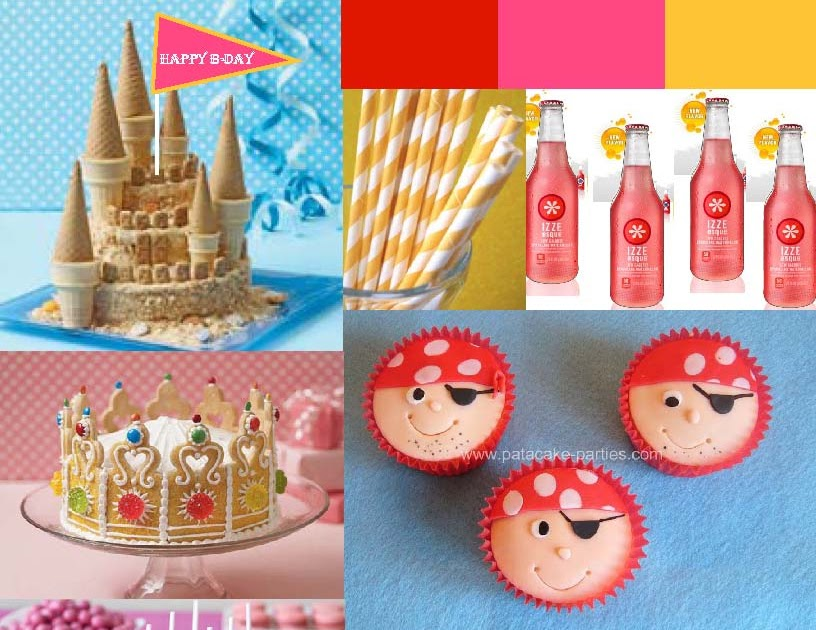 Tailored Sweets Blog: Princess & Pirates Party