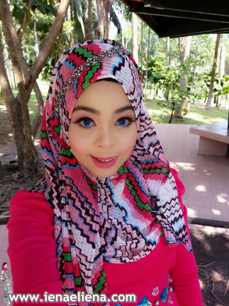 photoshoot-muslimah model- make up by cik iena
