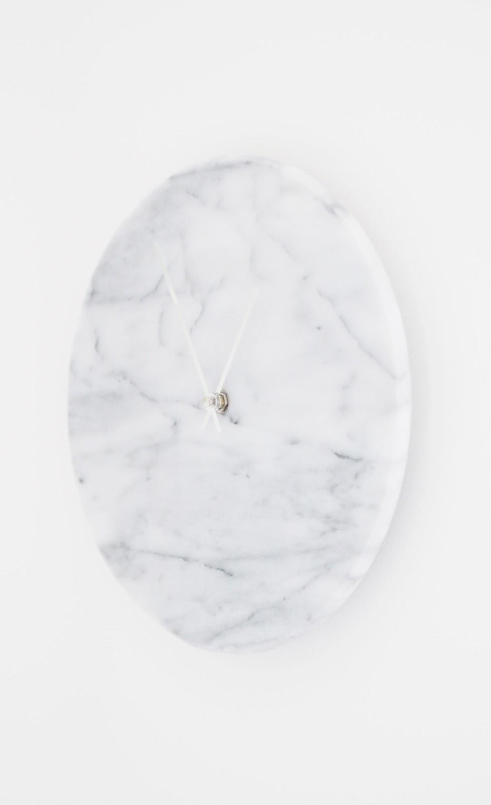 laura ashley marble clock