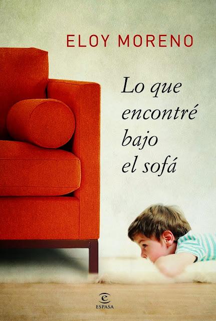 Portada de Lo que encontré bajo el sofá, de Eloy Moreno.
