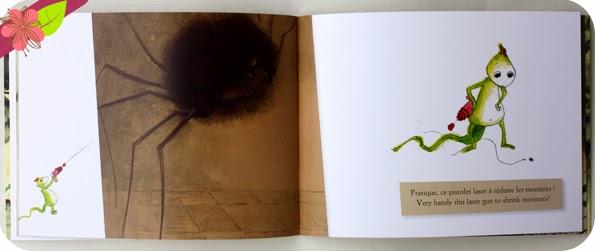 """""""Monstres - Monsters"""" de Hélène Kérillis et Stéphane Girel - éditions Léon art & stories"""