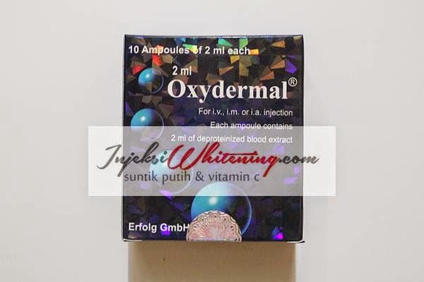 Oxydermal Blue Injection kotak Biru, Oxydermal Blue Injection, oxydermal blue injeksi, jual oxydermal blue, suntik oxydermal blue