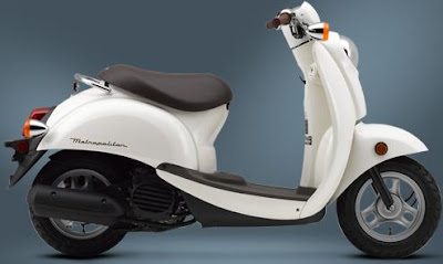 2009 Honda Metropolitan white