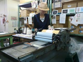 活版印刷機の時間貸し