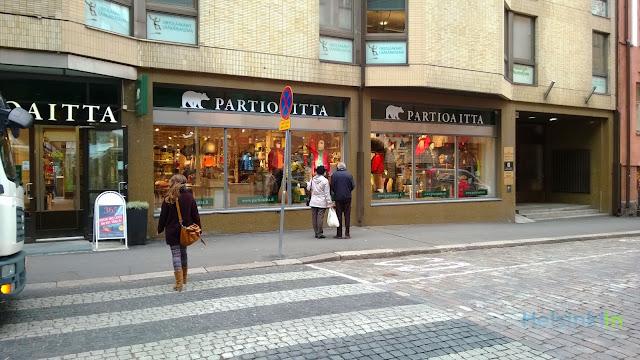 Partioaitta store in Helsinki