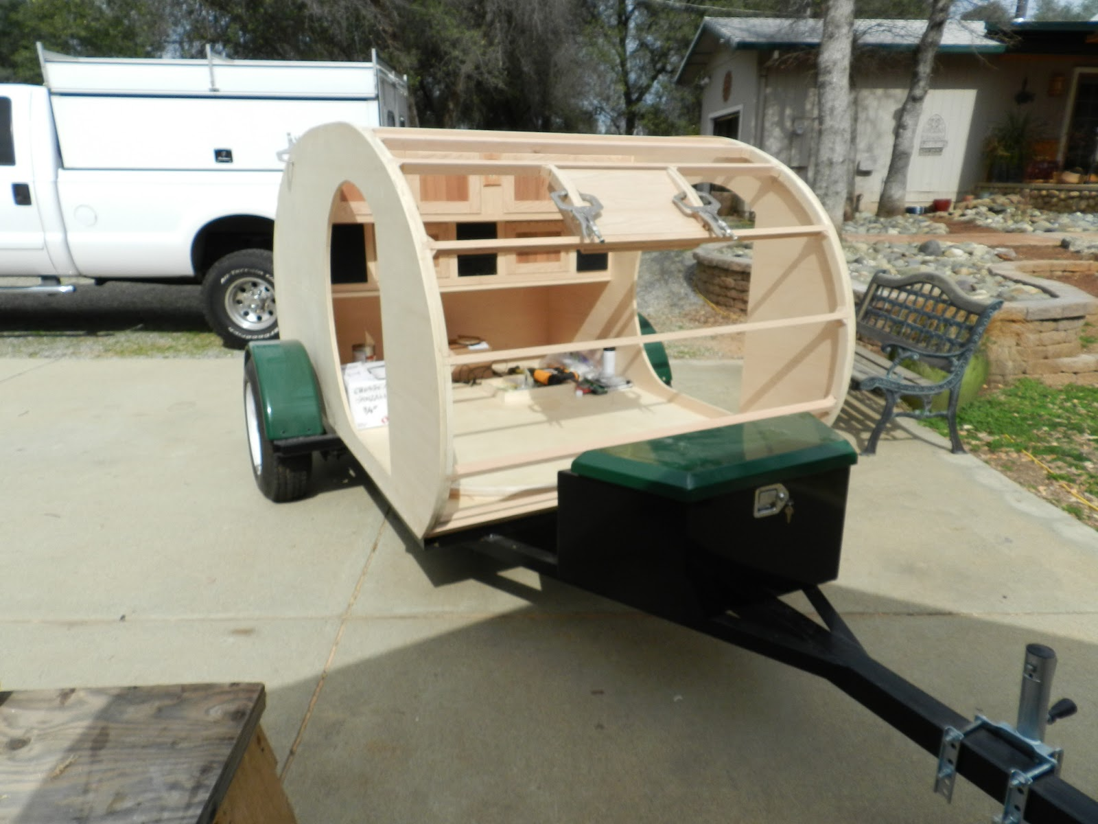 Ed S Teardrop Trailer Project Trailer Construction