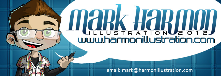 The Blog of Mark Harmon Illustration