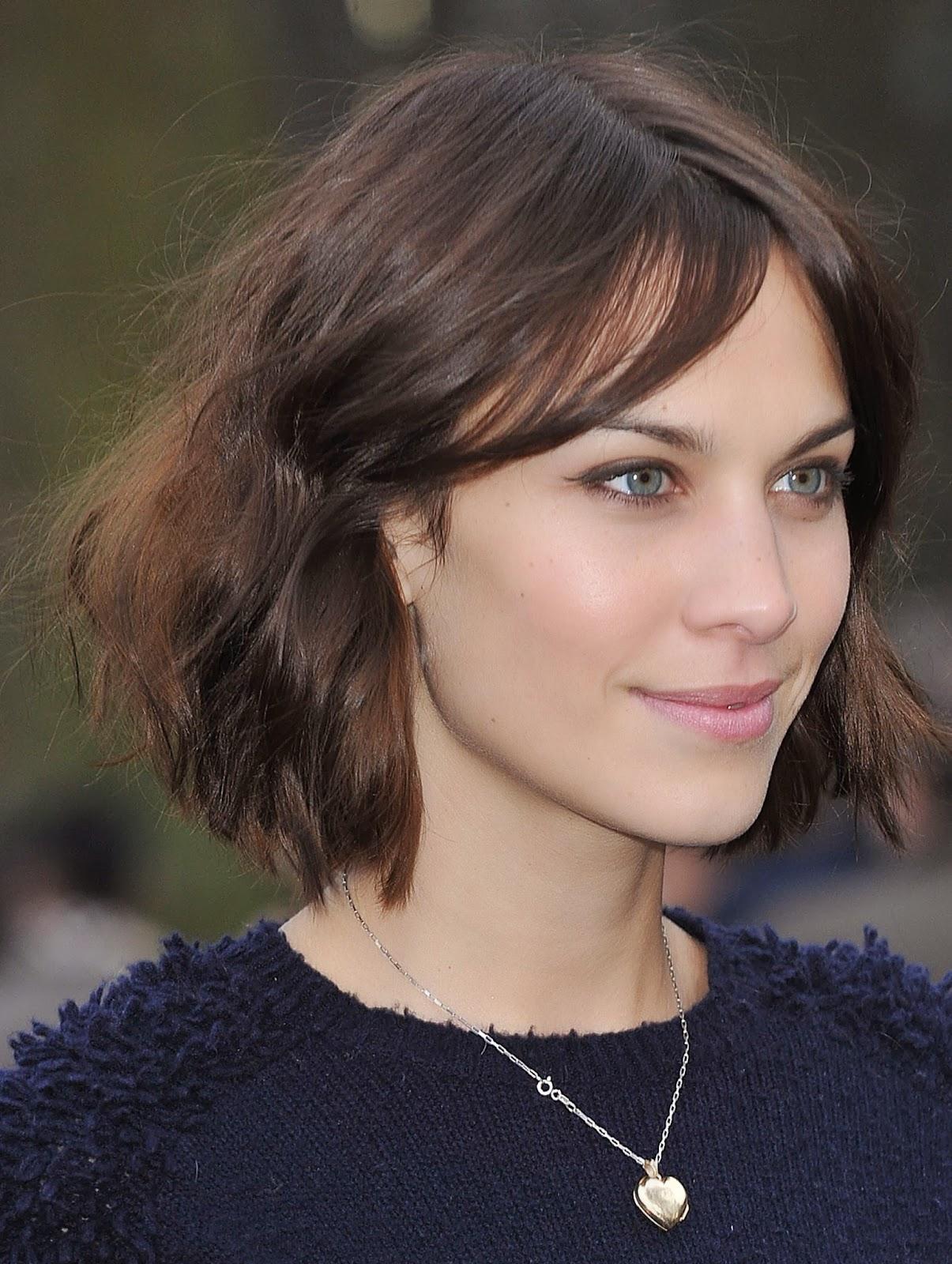 alexa chung short hair