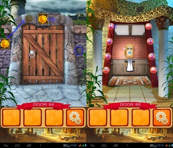 100 Doors World of History Level 81 82 83 84 85 Solution