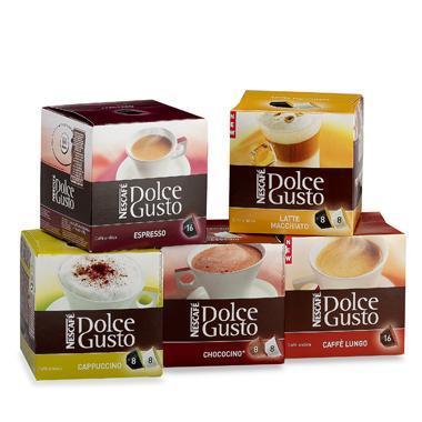 Capsulas de cafe para dolce gusto
