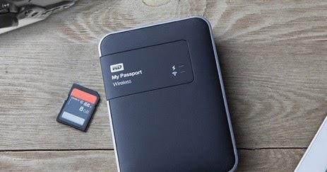Western Digital lancia My Passport disco rigido wireless con lettore di schede SD integrato