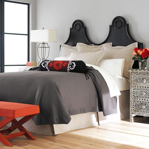 Modern red and black bedroom design ideas native home for Red and black bedroom designs