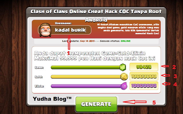 Cheat Games Clash of Clans Android