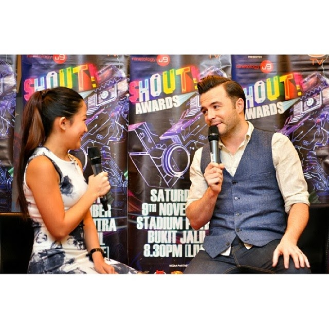 Your everything to me #ShaneFilan during the interview session