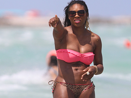 Dat. serena williams in skimpy bikini pictures ass looks majestic!