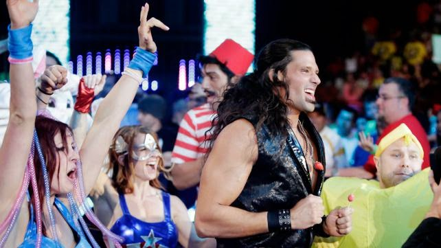 Adam Rose party time