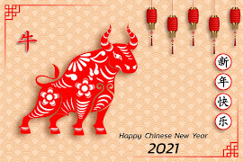 GONG XI FA CAI TO THE YEAR OF THE OX!