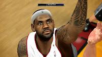 NBA 2K14 LeBron James Cyberface Mod