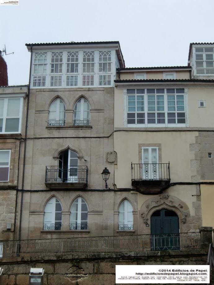 Edificios de Papel - Edificio en la C/ Hernán Cortés, en Ourense (Galicia, Spain)