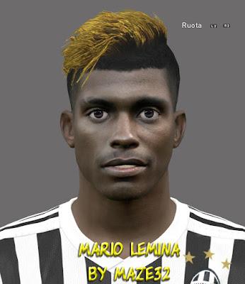 PES 2016 Mario Lemina Face by Maze32