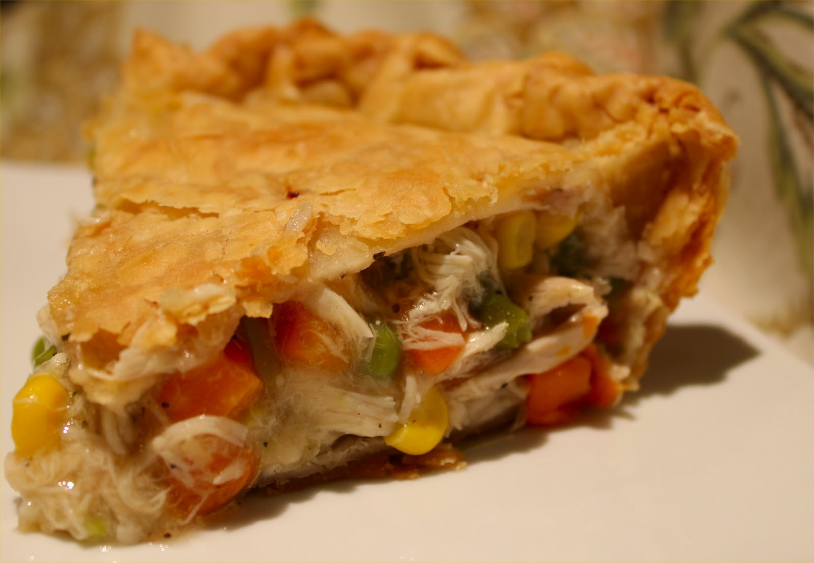 Sheri's Shared Secrets: Southern Chicken Pie