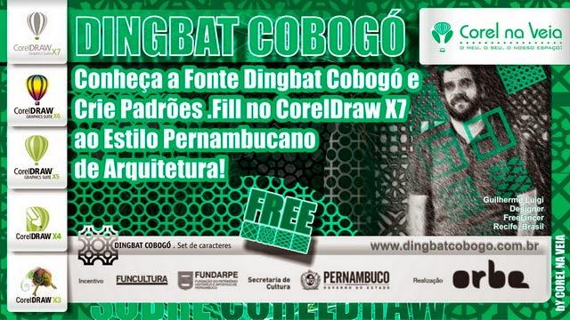 Conheça a Fonte Dingbat Cobogó e Crie Padrões Vetorias no CorelDraw X7