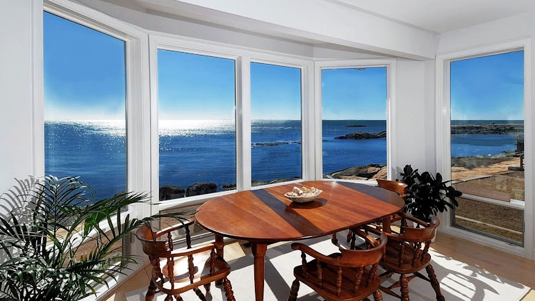Interior Dining with incredibly beautiful view
