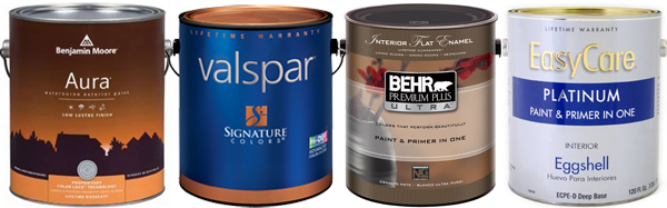 popular paint and primer in one products benjamin moore aura valspar. Black Bedroom Furniture Sets. Home Design Ideas