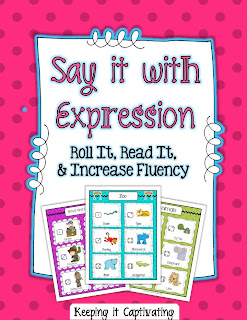 Say it with Expression: Roll It, Read It, & Increase Fluency