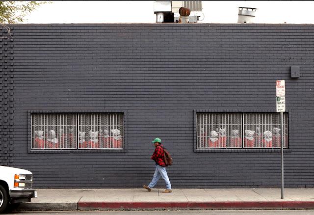 Dan Witz New Street Piece In Los Angeles Streetartnews