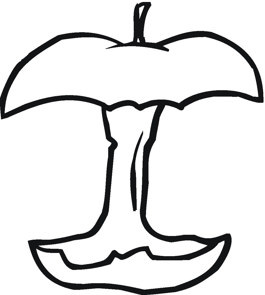 Lujoso Hojas Para Colorear De Manzana Composición - Dibujos Para ...