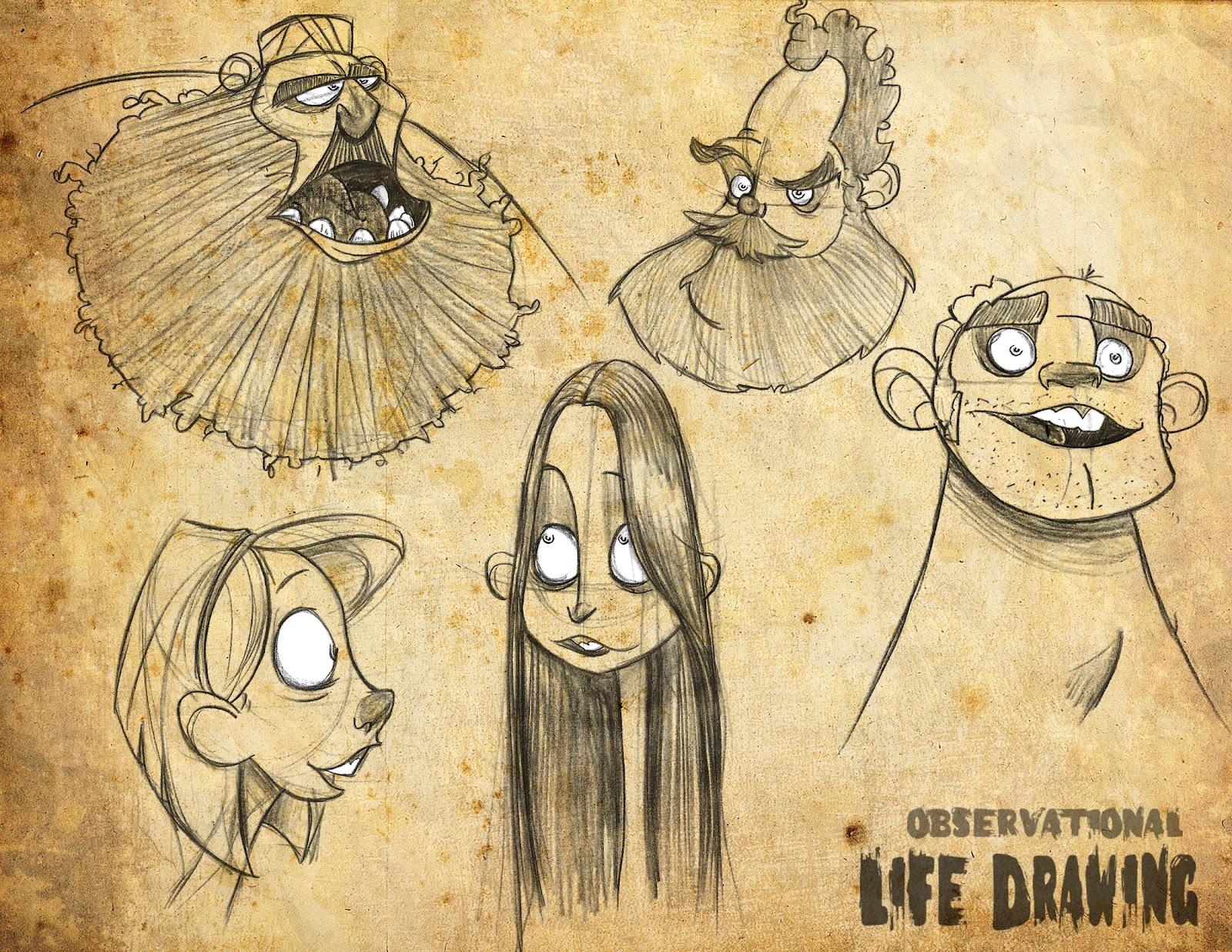 Character Design Life Drawing Pdf : The portfolio of dan seddon life drawing