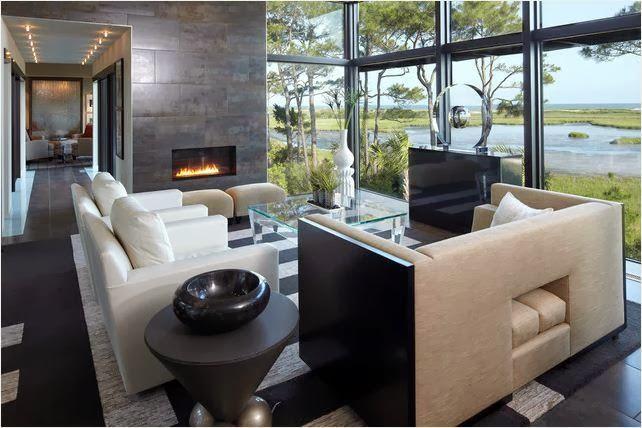 inpirasi desain ruang tamu modern 2013 rumah idaman