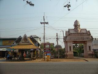 Si Satchanalai bus stop