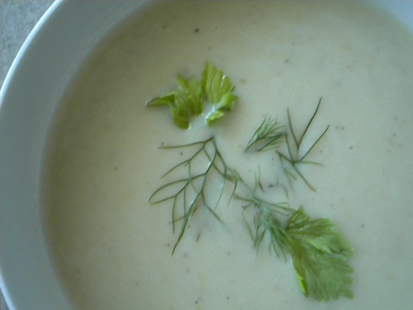 In My Kitchen: Roasted Celery Soup
