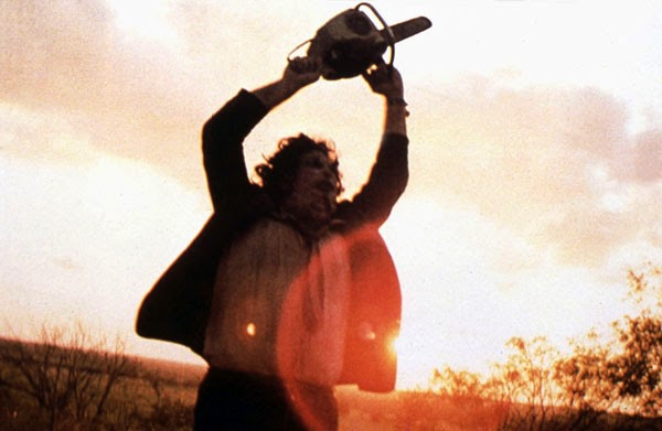 Gunnar Hansen as Leatherface in The Texas Chainsaw Massacre