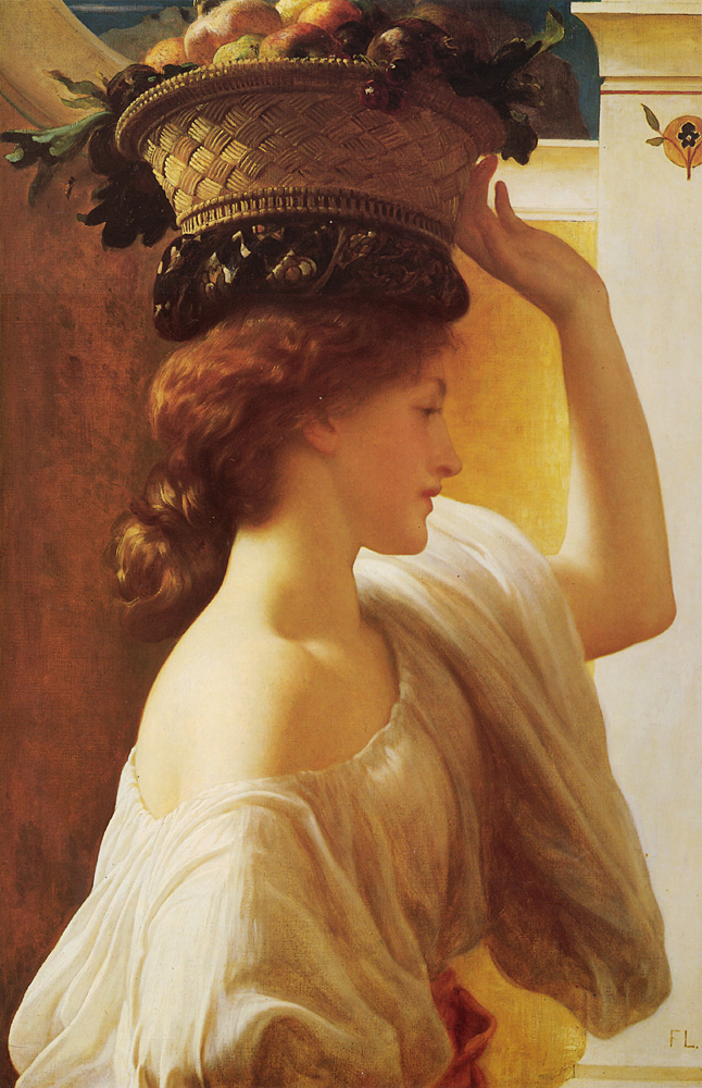 lord frederick leighton basket
