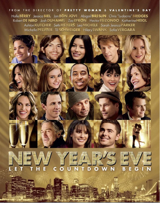 """entertainment scrapbook: MOVIE REVIEW: """"New Year's Eve"""""""