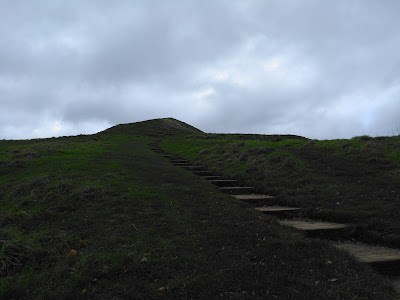 The path up Glastonbury Tor November 15th 2015