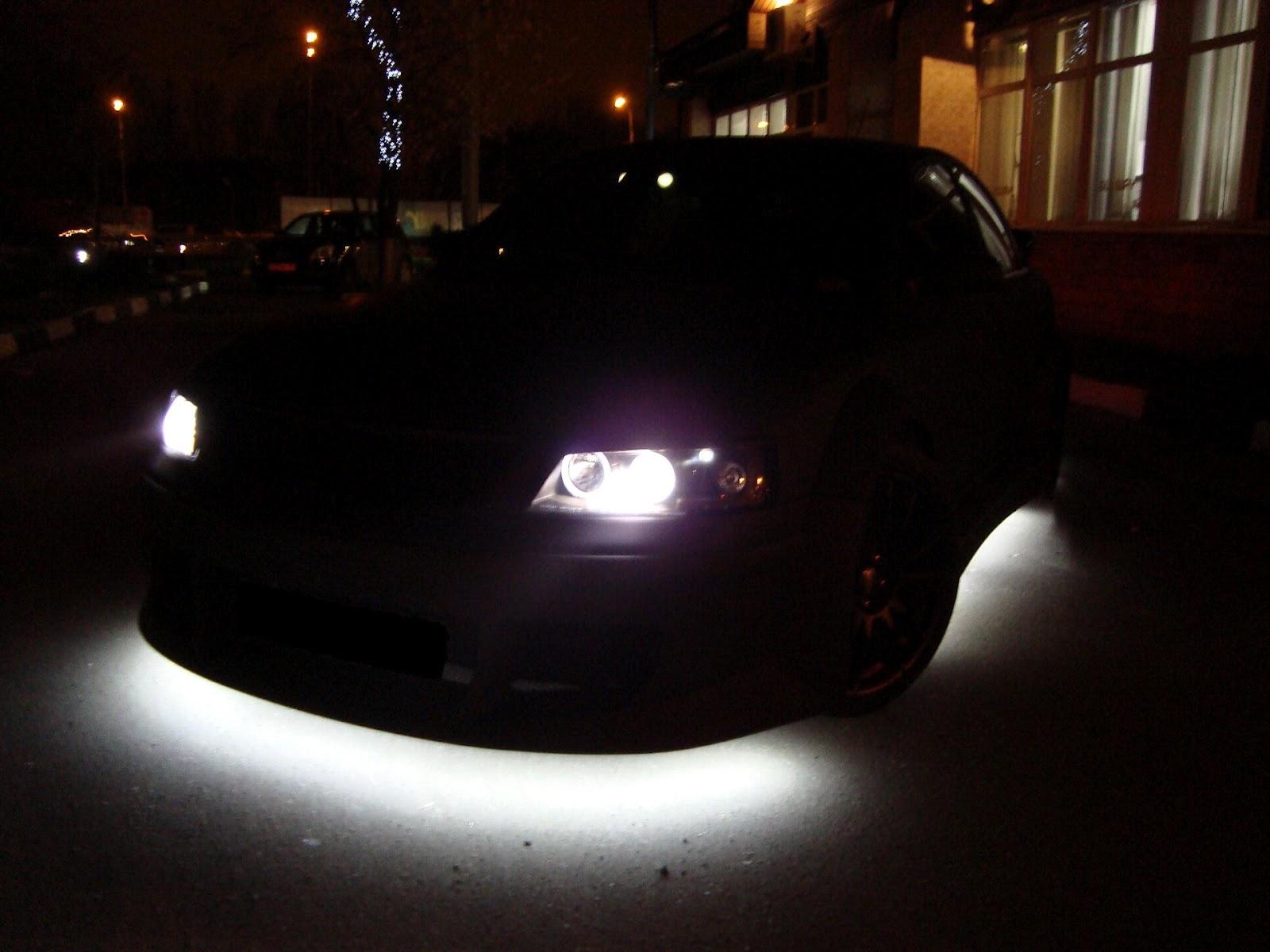Светодиодная подсветка для машины своими руками