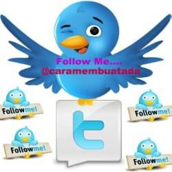 Daftar twitter dan buat twitter