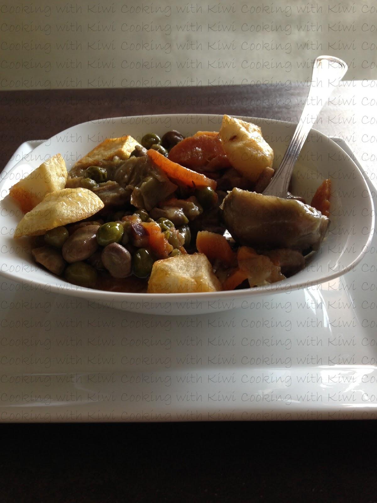 Cooking with kiwi menestra de verduras - Como preparar menestra de verduras ...
