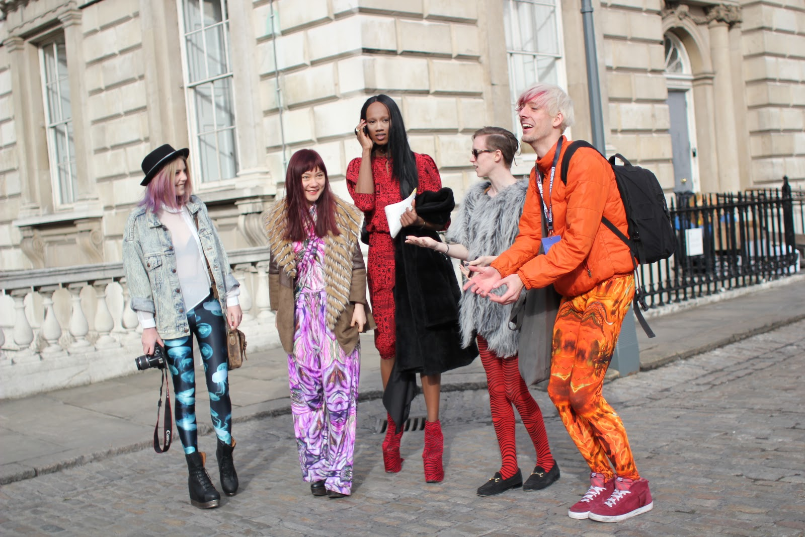 Styleeast London Fashion Week Street Style D 39 You Wanna Be In My Gang