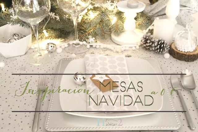 Mesas navideñas low cost by Habitan2
