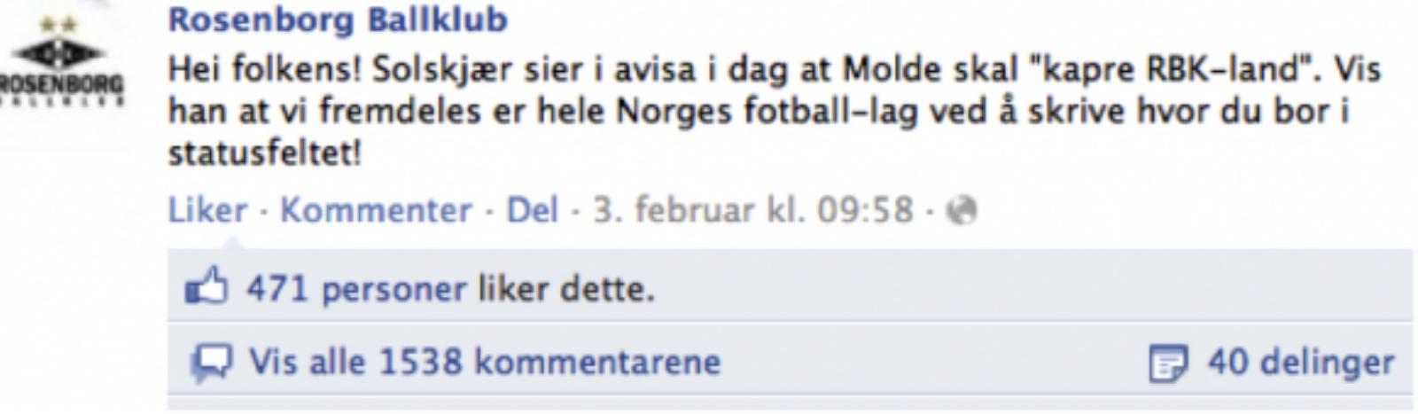 RBK Facebook