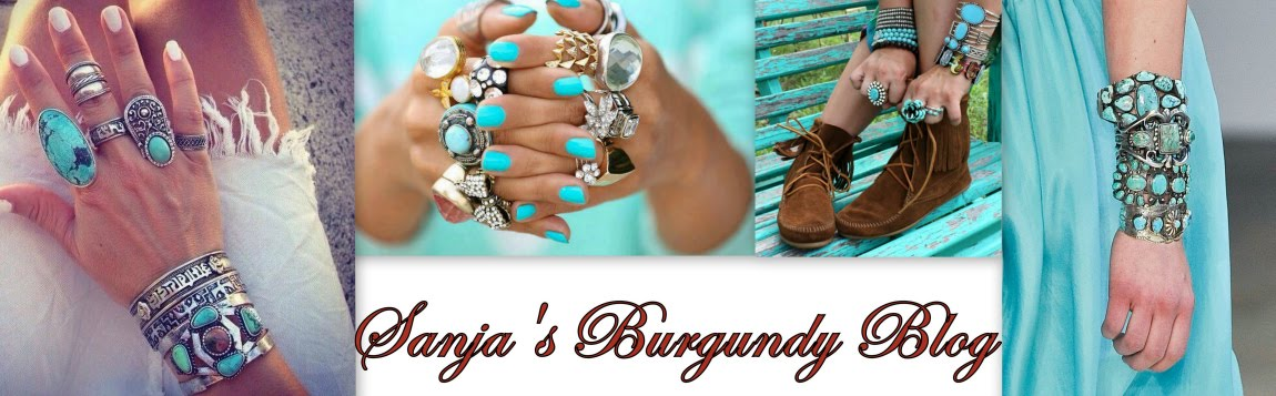 Sanja's Burgundy Blog