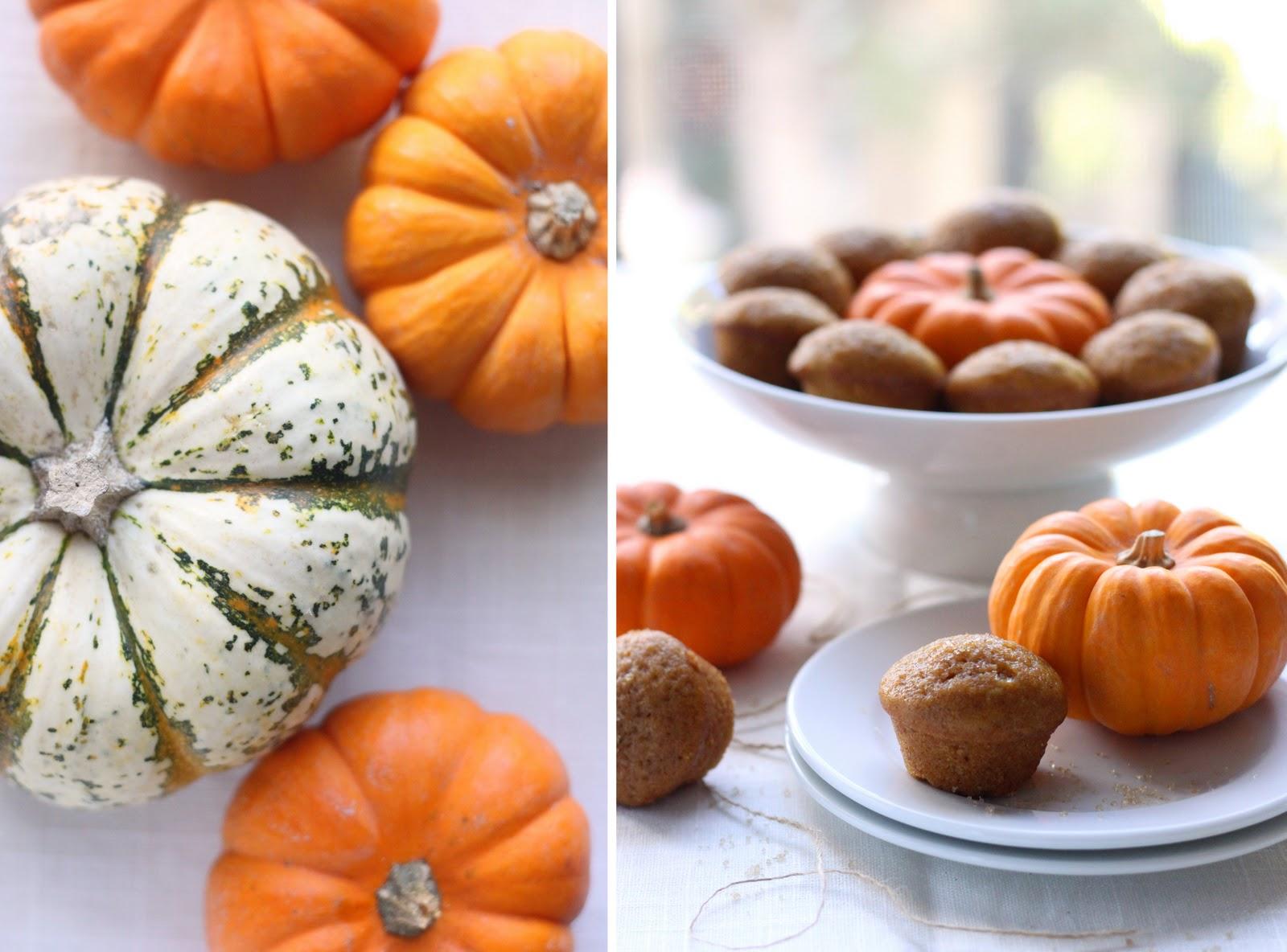 Mini Pumpkin Butterscotch Muffins Recipes — Dishmaps